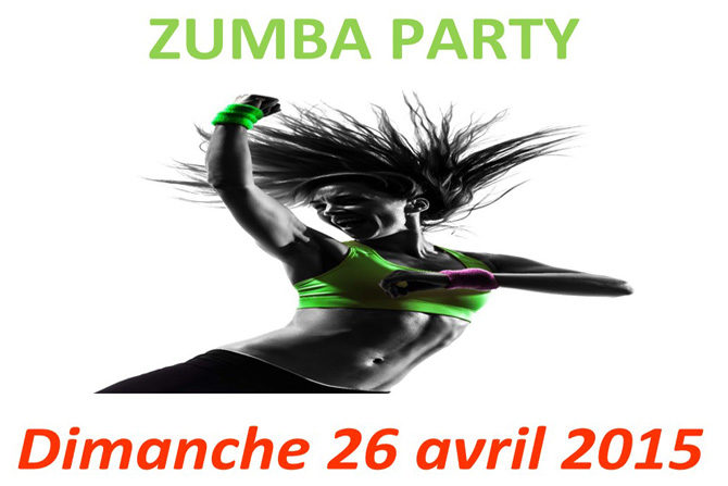 Zumba party le 26 avril à Châtelaillon
