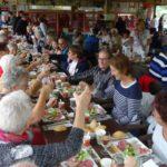 Romagne 2016 : repas à la Vallée des singes