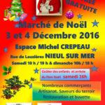 Marché de Noël 2016 : affiche