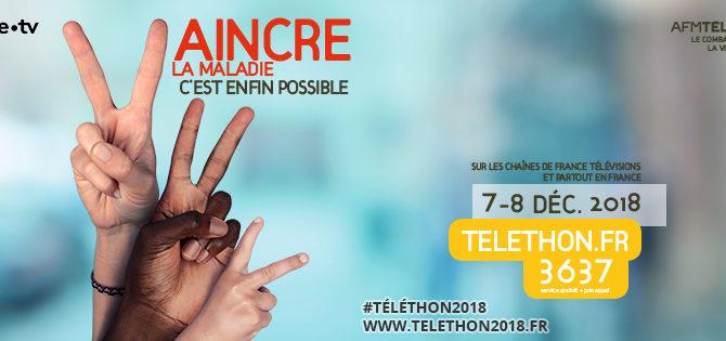Participez au Téléthon 2018