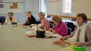 Nieul-Gym-Loirs : Aiguilles passion avec Patricia