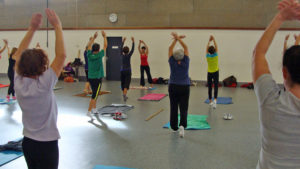 Nieul-Gym-Loisirs : Stretching avec Janine