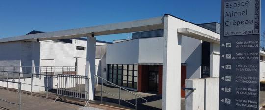 Espace Michel Crépeau : salle Cordouan - Nieul-sur-Mer