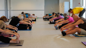 Nieul-Gym-Loisirs: Stretching postural avec Stéphanie