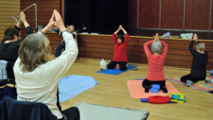 Nieul-Gym-Loisirs : Yoga 1 avec Christine