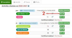 Nieul-Gym-Loisirs : fiche d'inscription
