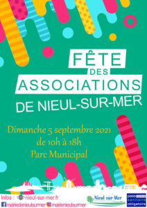 Fête des associations de Nieul-sur-Mer le 5 septembre 2021
